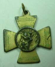 1960s Surfer Iron Cross / St Christopher Hybrid Medal -