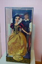 Snow White and Prince Fairy Tale designer limited edition doll disney Store