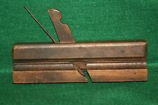 Antique 19th Century European Carpenters Woodworking Moulding Plane Inv#JB78