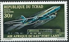 Tschad - Langstreckenverkehrsflugzeuges DC 8-63 postfrisch 1970 Mi. 317