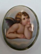 Berlin Hand Painted 19c Porcelain Plaque