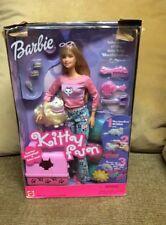 NIB 2000 Mattel Barbie Kitty Fun with Marshmallow the Cat  # 28612