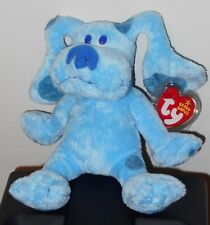 Ty Beanie Baby ~ BLUE the Nick Jr. Blues Clues (Blue's Clue's) Dog ~ MWMT'S RARE