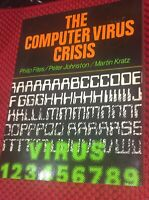 The Computer Virus Crisis by Fites Johnston Kratz Early Info Technology IT Book