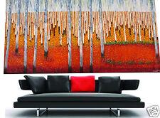 Massive Big  urban Aboriginal art oil painting landscape decor 94in wide By Jane