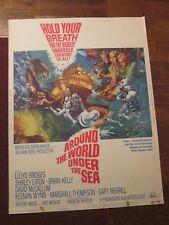 Around The World Under The Sea  -Original   30 x 40 Movie Poster -