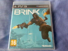BRINK (2011 sony playstation 3 game with instruction manual) PS3