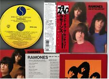 RAMONES End Of The Century JAPAN Mini-LP CD WPCR-12726 w/OBI 2007 issue Free S&H