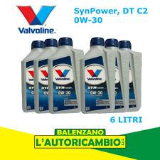 Olio Motore Sintetico SynPower 0w-30 DT C2 Valvoline 875423 - 6 litri
