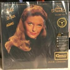 Julie Is Her Name, Vol. 2 by Julie London (Vinyl, Jun-2017, Analogue Productions)