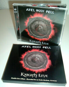 AXEL RUDI PELL - Knights Live © 2002 STEAMHAMMER - 2 CDs Live Germany