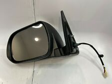 2008-2013 Toyota Highlander Lh Aftermarket White Mirror w Puddle Lamp Good #T249