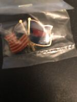 Minnesota Twins U.S.A Flag Lapel Hat Pin