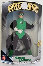 """DC SUPER HEROES GREEN LANTERN SILVER AGE COLLECTION 8"""" FIGURE + DC LOGO STAND"""