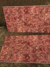 Doll House Quality Detailed 2  Sheets Marbled /Floor Tiles Made In Spain New