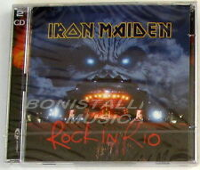 IRON MAIDEN - ROCK IN RIO - Double CD Enhanced Sigillato