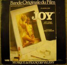 BO FILM OST JOY DEBBIE DAVIS music FRANCOIS VALERY 1983 TBE PORT A PRIX COUTANT