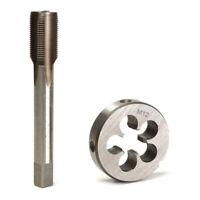 Die Tap Screw Thread Metric Bit 2pcs HSS Plug Threading For Machine M12 M14 M16