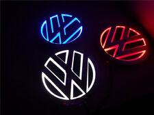 5D LED Car Logo Light Auto Badge Rear Emblems Lamp For Volkswagen Golf BORA CC