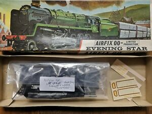 Airfix R502 British Railways Evening Star 2-10-0 9F complete but started kit