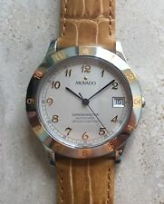 18k Solid Gold Movado Swiss Certified Chronometre Automatic Watch