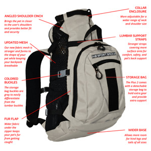 k9 sport sack air plus 2 new version k9 sportsack dog carrier backpack