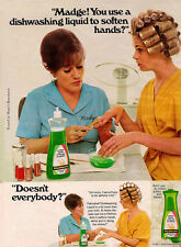 "Madge Palmolive Dish washing Liquid Ad Replica 14 x 11"" Photo Print"