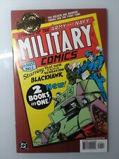 Military Comics #1 - DC Millennium Edition - 2000 - (Grade - 9.2 NM-) Black Hawk