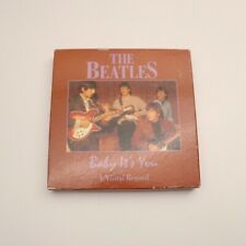 THE BEATLES - BABY IT'S YOU - A VISUAL RECORD WITH BOOK MADE IN ENGLAND