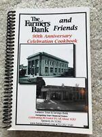 SPENCER IOWA VTG Okoboji Farmers Bank History Cook book Clay County recipes