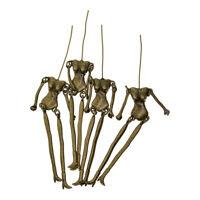 4 pcs Steampunk Skeleton Charms Anhänger DIY Handwerk Schmuckherstellung