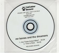 (GP983) Mr Bones And The Dreamers, Are These Actual Miles? - 2009 DJ CD