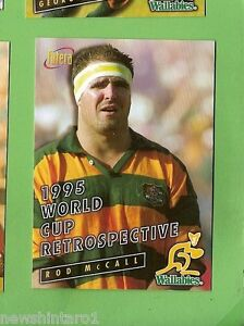 1996  RUGBY UNION  CARD #89 ROD McCALL, WALLABIES