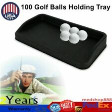 57*32cm Deluxe Rubber Golf Ball Tray For 100 Golf Balls Holding Tray Container