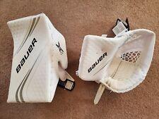 Bauer Vapor 2x Glove & Blocker - White Senior New