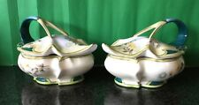2 x A K B Royal Vienna Lidded Vegetable Dishes