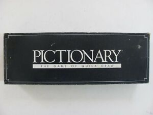 Vintage Pictionary Board Game 1st Edition Parker Brothers 1985 - Complete
