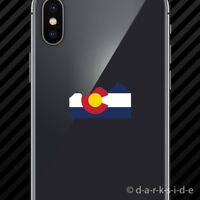 """Colorado Flag /""""C/"""" with mountains #1 Die-Cut Sticker 3.5/""""x3.5/"""" Buy 2 Get 1 free!"""