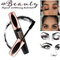 4D Silk Fiber Eyelash Mascara Extension Women Makeup Black Eye Lashes Waterproof