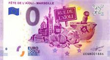 13 MARSEILLE Fête de l'aïoli, 2019, Billet 0 € Souvenir