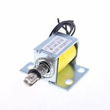Open Frame Actuator Solenoid Electromagnet Holding Push ZYE1-0837ZP DC 12V