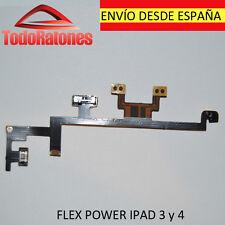 Apple Ipad 3 ipad 4 flex fleje botón Boton encendido volumen mute cable silencio