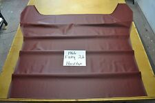 1966 66 MOPAR PLYMOUTH FURY 2 DOOR 4 BOW HARDTOP MAROON HEADLINER USA MADE