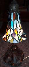 TIFFANY WAND TISCH LAMPE LEUCHTE GLAS KUNST ALT ANTIK JUGENDSTIL ARTDECO?