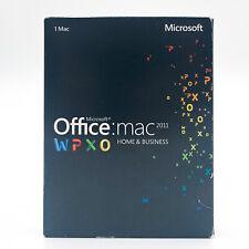 Microsoft Office mac 2011 - Home & Business - Englisch, English - Produktcode