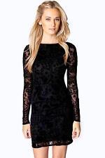 Boohoo Polyester Long Sleeve Dresses for Women