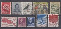 Norway Collection of 10 Values On Stockcard VFU J565