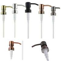 Retro Metal Dispenser Replacement Soap Pump Liquid Lotion Bottle Bird Head 1PC