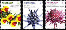 Australia 2015 Wildflowers Complete Set of Stamps S/A Uncancelled No Gum