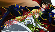 Code Geass C.C. and Lelouch Custom Playmat / Gamemat / Mat #422432